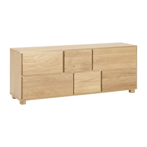 commode basse hana ii commode basse en ch 234 ne massif habitat
