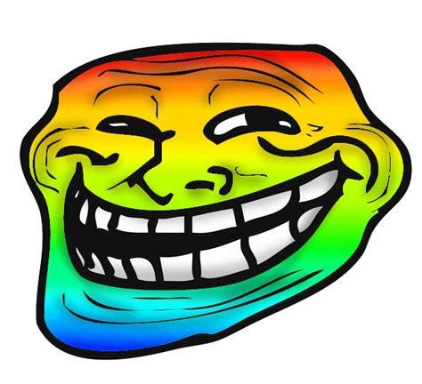 Rainbow Face Meme - rainbow troll face blank template imgflip