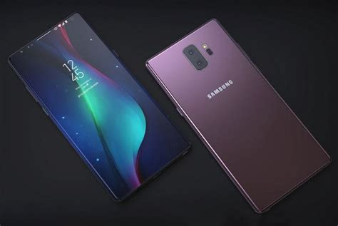 samsung galaxy note 9 leaked info all we so far