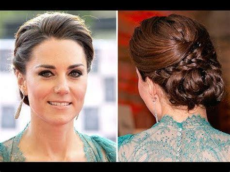 kate middleton wedding hair tutorial kate middleton updo youtube