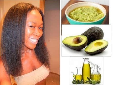 diy avocado olive hair conditioner