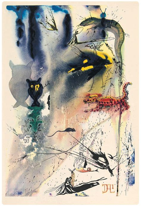 alice  wonderland illustrated  salvador dali