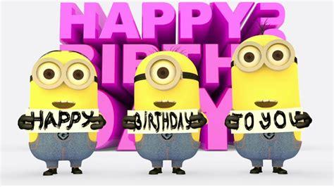 happy birthday minion images happy image gallery happy birthday minions images