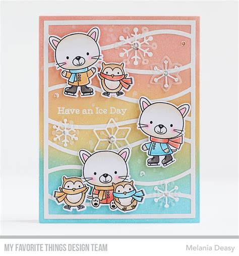 Set Deasy 26 best mft snow drifts cover up images on cardmaking cards and mft sts