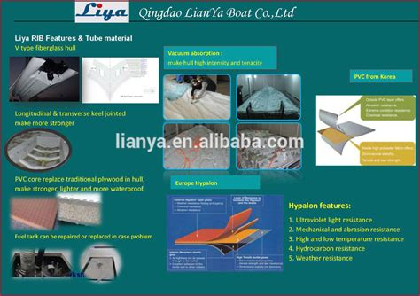 rib boat manufacturers europe liya 14ft hypalon inflatable rubber boat manufacturers
