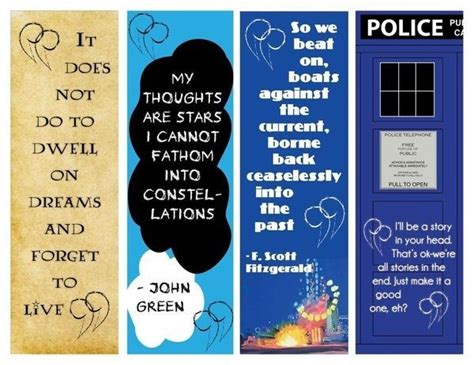 printable quotes about books printable bookmarks with quotes from books google search