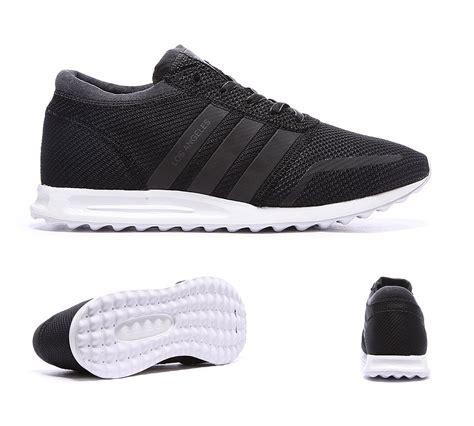 adidas originals los angeles trainer black white