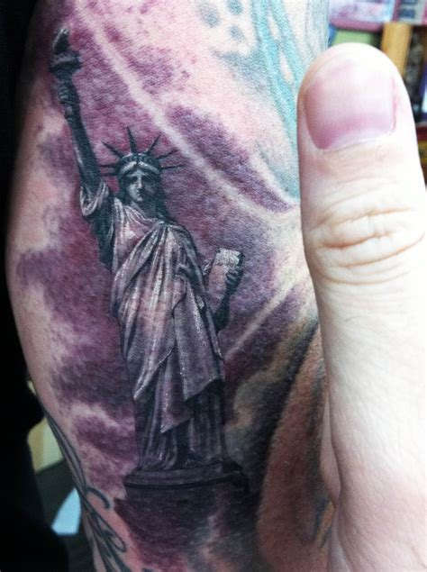 statue of liberty tattoo statue of liberty tattoos