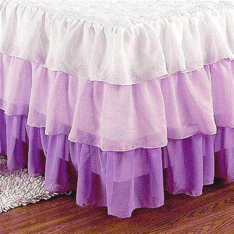 purple bed skirt purple bedskirt