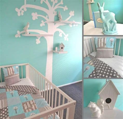 decoration chambre bebe arbre visuel 4