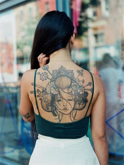 oriental lady tattoo 50 spiritual traditional japanese style tattoo meanings
