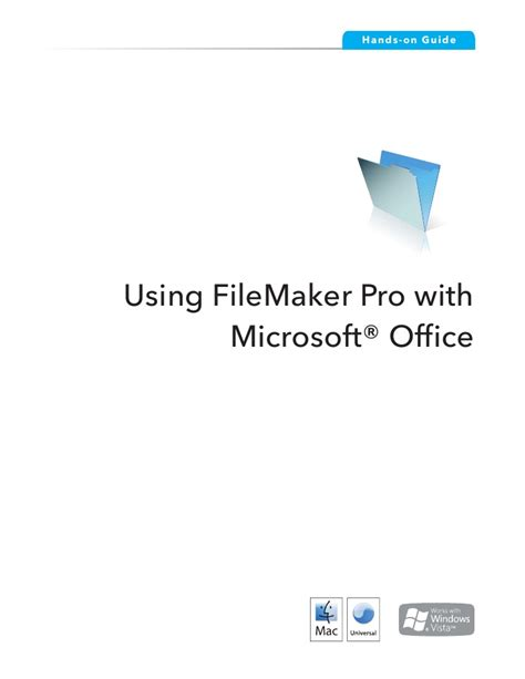 Uses Of Microsoft Office Using File Maker Pro With Microsoft Office