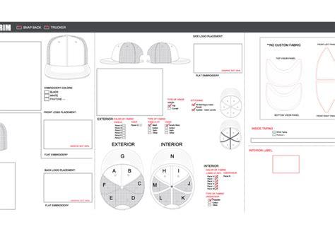 trucker mesh hat template vector download free vector