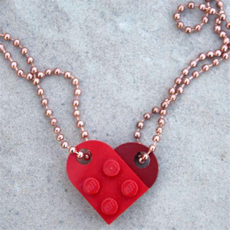 diy best friend necklaces doodlecraft lego best friends bff necklace diy
