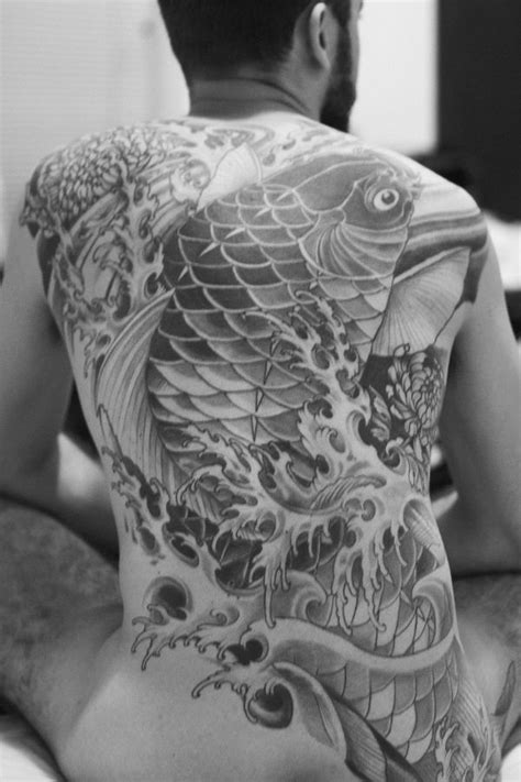 tattoo koi full back 49 koi fish tattoo designs with meanings