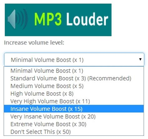 free mp volume booster mp3louder boost mp3 songs sound 50 times higher online