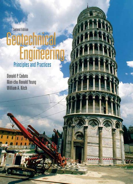 introductory geotechnical engineering an environmental perspective books coduto yeung kitch geotechnical engineering