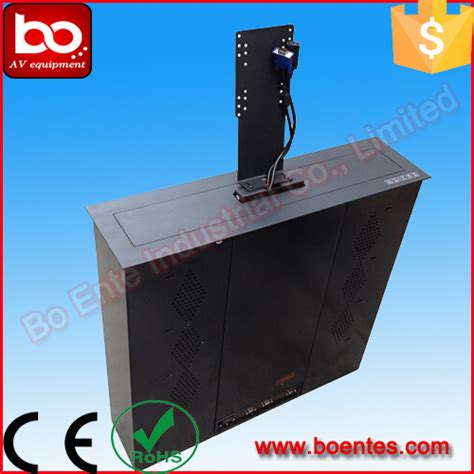 Citi Remote Office Help Desk 21 24 Inch Desk Motorized Led Monitor Lift For Conference System Buy Led Monitor Lift