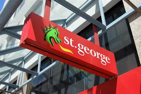 st george bank st george bank sign outside branch abc news australian
