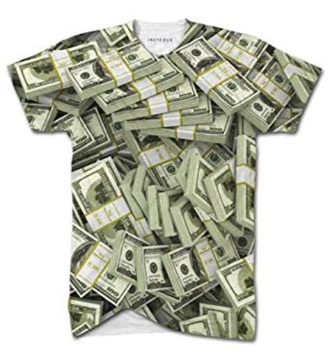 design clothes online for money american dollar bills all over print t shirt top men cash
