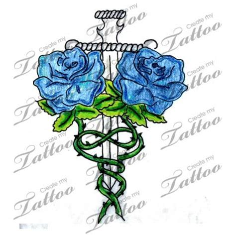 intertwined rose tattoos the world s catalog of ideas