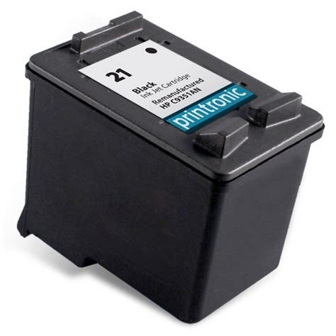 Catridge Hp 21 Bk Black compatible hp 21 c9351an black ink cartridge