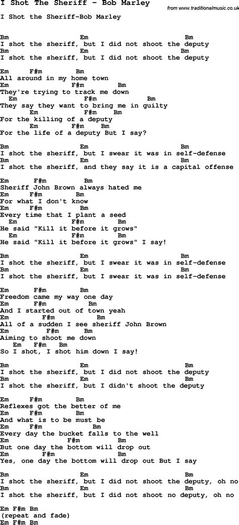 testo buffalo soldier song i the sheriff by bob marley with lyrics for