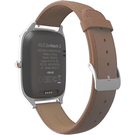 Asus Zenwatch 2 Camel Leather 49mm Wi501q Silver T1310 smartwatches smartwatch zenwatch 2 silver and camel leather band 143845 asus quickmobile