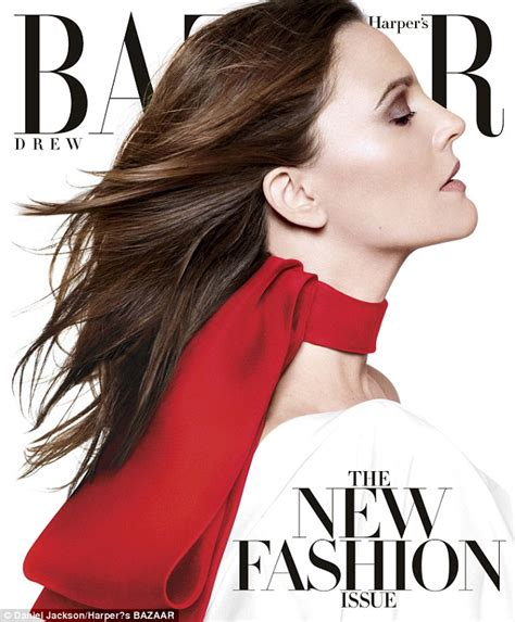 Drew Barrymore On March Cover Of by Drew Barrymore S Olive Will Not Follow In