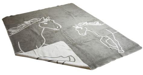 decke pferd decke pferd grau richter 150x200 cm kuscheldecke