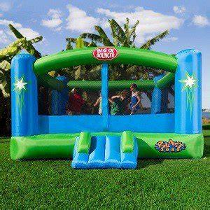 Amazon Com Blast Zone Big Ol Bouncer Inflatable Moonwalk Toys Games
