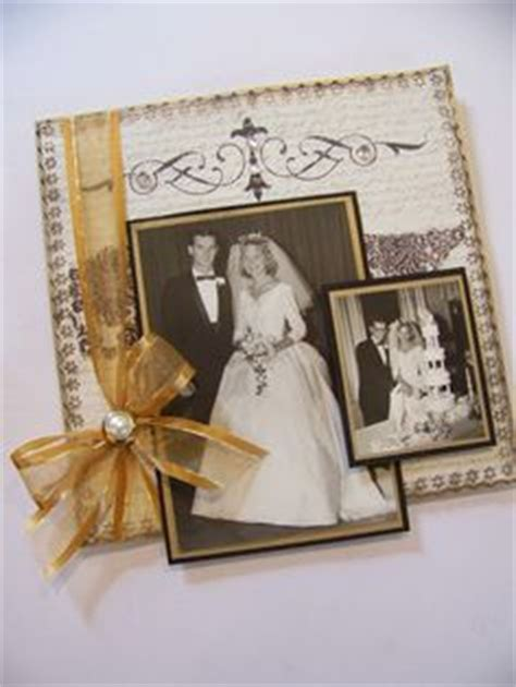 1000  images about 50th Anniversary scrapbook ideas on