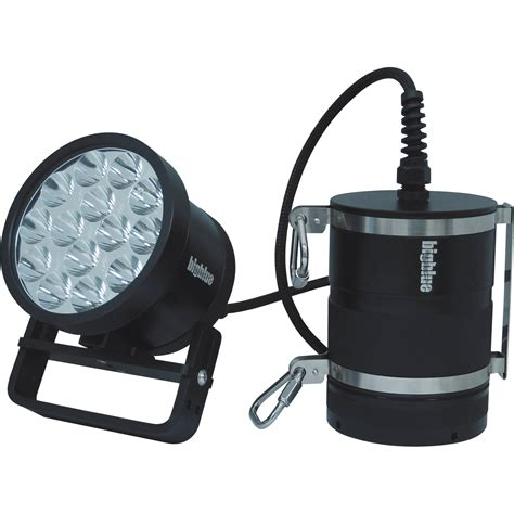 led dive light amazon bigblue tl18000pc technical led canister dive light tl18000pc