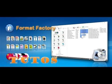 Format Audio Video Youtube | format factory convertir des fichiers audio vid 233 o texte