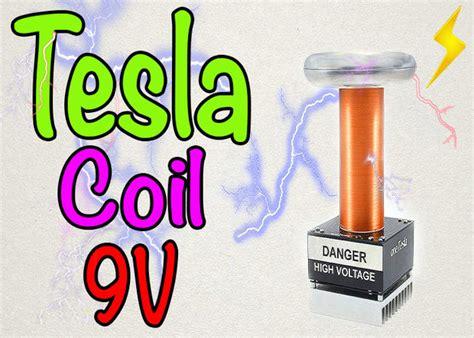 how to make a tesla how to make a mini tesla coil 9v 11 steps