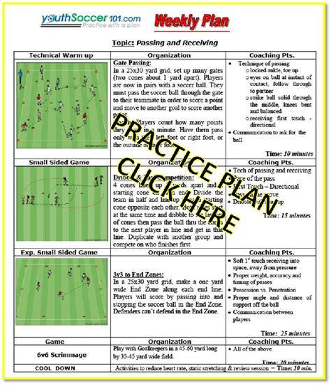 youth football practice plans templates 17 best ideas about soccer practice plans on