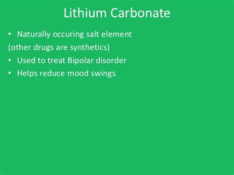 lithium mood swings psychology notes ch 17 therapy short