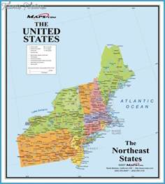northeastern united states map northeastern united states map travel map vacations