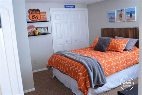 Diy Boys Bedroom Ideas Diy Pallet Headboard The Idea Room