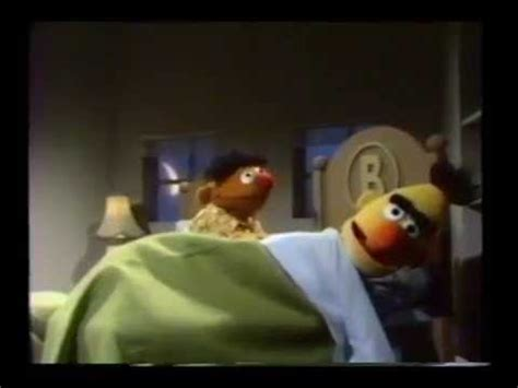 bert and ernie in bed sesame street ernie eats cookies in bed youtube