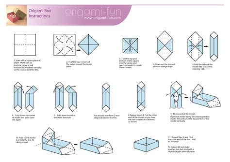 How To Make A Box Out Of Origami - volunteer peace justice center