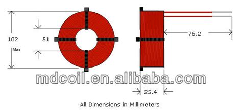 diy air inductor 6mh diy air inductor view diy air inductor md product details from huizhou mingda