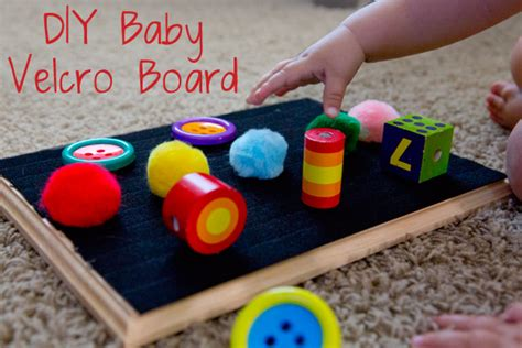 Handmade Toys For Infants - handmade toys velcro board for baby