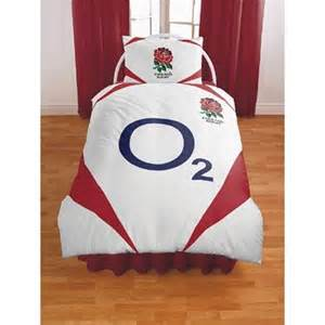 Childrens Single Duvet Official England Rugby Bedding Set Duvet Cover And Pillow Case
