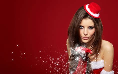 hot christmas girl wallpapers pictures photos 4783 hd