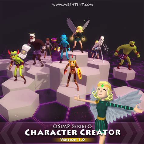 unity tutorial character customization tutorial how to customize simp series characters unity3d