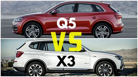 Audi X3 by 2017 Audi Q5 Vs Bmw X3