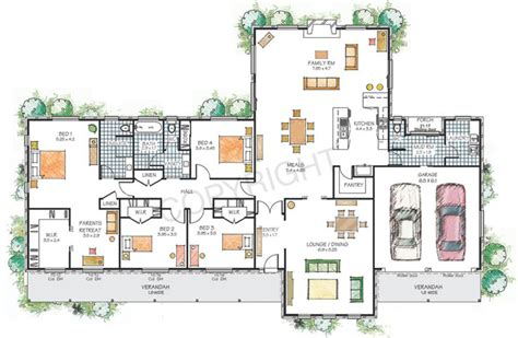 family home floor plans modern single family home plans