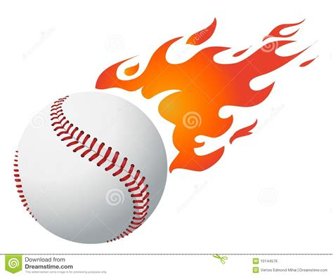 clip art flaming baseball clipart 101 clip art