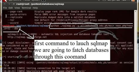 tutorial deface menggunakan sqlmap sqlmap hacking with sql injection tutorial website html